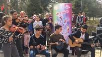 'Müzik Sokakta Müzik Her Yerde' Projesine İlgi