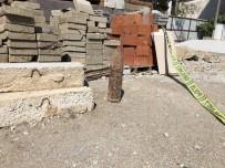 OLAY YERİ İNCELEME - Şehrin Göbeğinde Top Mermisi Bulundu