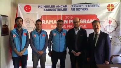 Türkiye'den Kuzey Makedonyalı İhtiyaç Sahiplerine Ramazan Yardımı