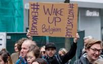CİNSEL TACİZ - Belçika'da 20 Bin Kişi Kadına Şiddete Karşı Yürüdü