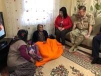 Jandarma 110 Yaşındaki Anneyi Unutmadı