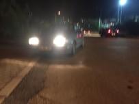 Sakarya'da Otomobil Domuz Sürüsüne Daldı