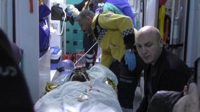 Taş ocağında patlama: 4 yaralı