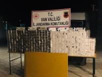 GÜLDEREN - Van'da 9 Bin 940 Paket Kaçak Sigara Ele Geçirildi