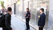 Boş Dükkanda Mahsur Kalan 'Sakız'ı İtfaiye Ekipleri Kurtarıldı