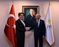OĞUZ KAAN SALICI - CHP Genel Başkanı Kemal Kılıçdaroğlu, Akşener'i Ziyaret Etti