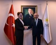 OĞUZ KAAN SALICI - CHP Genel Başkanı Kılıçdaroğlu, Akşener'i Ziyaret Etti