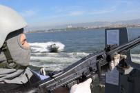 SAVAŞ GEMİSİ - Deniz Kurdu Tatbikatında Savaş Gemilerine Saldıran Terörist Botlar Püskürtüldü