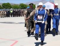 Elazığ'da şehit asker için tören