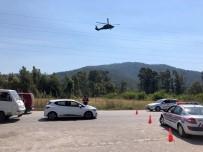 YAKIN TAKİP - Jandarma'dan Marmaris'te Trafik Havadan Denetimi