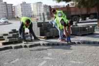 SEYRANTEPE - Karaköprü'de Yol Çalışmaları Sürüyor