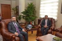 Rektör Prof. Dr. Mazhar Bağlı'dan RTÜK Başkanı Ebubekir Şahin'e Ziyaret
