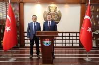 Vali Ali Hamza Pehlivan Rize Valisi Kemal Çeber'i Ziyaret Etti