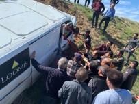 Zırhlı Araç Kazasında İki Kişi Yaralandı