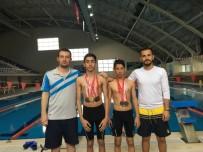 Adıyaman Belediyesporlu Yüzücüler Finalde