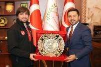 AFAD Başkanı Güllüoğlu, Belediye Başkanı Arı'yı Ziyaret Etti