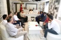 AGAD Başkanı Aslan, Başkan Kılınç İle Bir Araya Geldi
