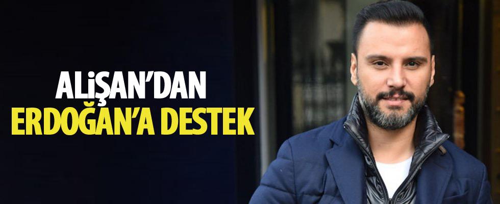 Alişan'dan Erdoğan paylaşımı
