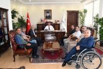 Engelli Dernekleri Vali Aykut Pekmez İle Bir Araya Geldi