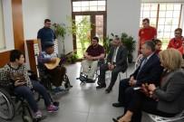 İŞİTME ENGELLİLER - Engelli STK'lardan Başkan Aşgın'a Ziyaret