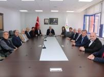 İGM Ve MHP Heyetinden Başkan Özlü'ye Ziyaret
