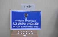 Konya'da Eroin Ele Geçirildi Açıklaması 2 Gözaltı