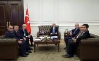Mardin'in AK Parti'li İlçe Belediye Başkanları Ankara'da