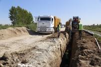 KANALİZASYON ÇALIŞMASI - MESKİ, Karacailyas'a 7 Milyon 720 Bin TL'lik Kanalizasyon Hattı Yapıyor