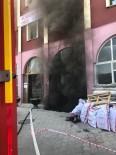 Otel Tadilatında Isınma Kazanı Alev Aldı