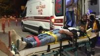 HIKMET ŞAHIN - Otomobil Şarampole Uçtu Açıklaması 4 Yaralı