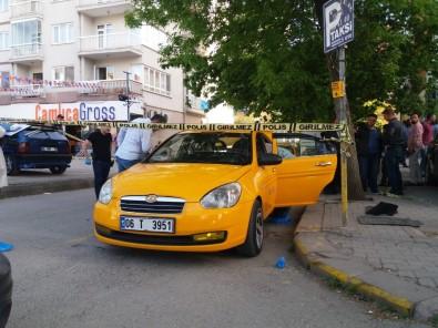 Taksiciler Arasında Silahlı Kavga Açıklaması 1 Yaralı
