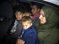 KAÇAK GÖÇMEN - Tekirdağ'da 10 Kaçak Göçmen Yakalandı