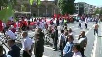 '100. Yıl Coşkusu' Kortej Yürüyüşüyle Başladı