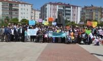 ASKERLİK ŞUBESİ - Bafra'da 'Hayatı Paylaşmak İçin Aramızda Engel Yok' Yürüyüşü
