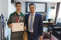 ŞAMPİYONLUK MAÇI - Bandırma Ortaokulu Basketbol Takımı Türkiye 2.Si Oldu