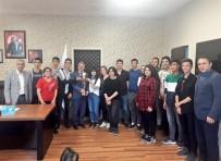 KAYHAN - Başarılılarını Gençlik Spor İl Müdürü İle Paylaştılar