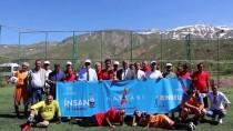 Engelliler Futbol Oynadı