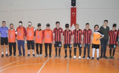 Görme Engellilerden Futsal Maçı