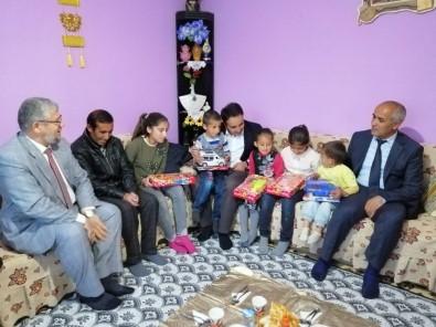 İlçe Protokolü, 9 Nüfuslu Kepçik Ailesine Konuk Oldu