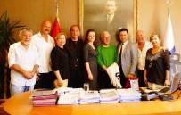KARATE - Ilıcak'tan Başkan Ahmet Aras'a Ziyaret