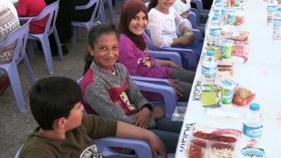Kilis'te 11 Bin Suriyeli Birlikte İftar Açtı