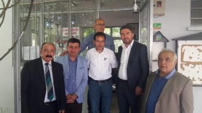Kiraz'dan Muhtara Hayırlı Olsun Ziyareti