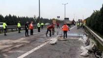TRAFIK KAZASı - Kocaeli'de Zincirleme Trafik Kazası