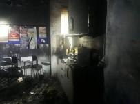 Öğretmenler Odası Çıkan Yangında Kullanılmaz Hale Geldi