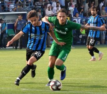 TFF 3. Lig Açıklaması Karacabey Belediyespor Açıklaması 2 - Serik Belediyespor Açıklaması 4