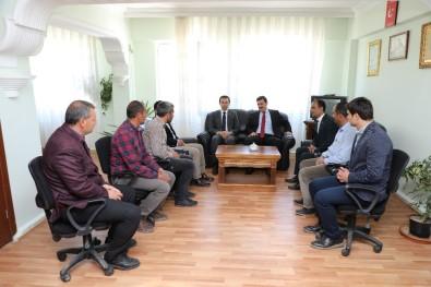 Vali Arslantaş'tan İlçe Ve Beldelerin Yeni Belediye Başkanlarına Ziyaret