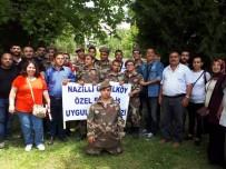 ASKERLİK ŞUBESİ - Başkan Özcan Engelli Gençleri Askere Uğurladı