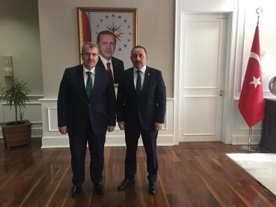 Başkan Sever'in Ankara Temasları