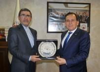TAHRAN - Başkonsolos Kondori'den TTSO'ya Veda Ziyareti