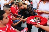 ALİHAN - Engelli Gençlere Temsili Asker Uğurlama Töreni